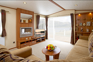 One of our Cairnie caravans.