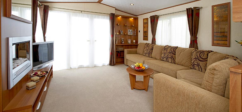 Four Star Caravan Leven Beach Holiday Park Fife Scotland