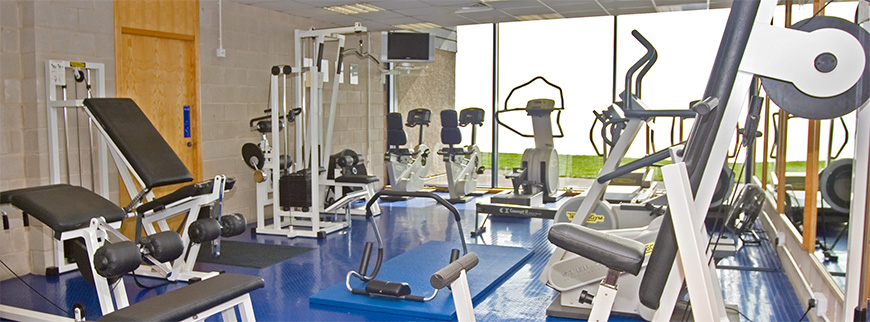Gymnasium and atlas fitness suite pettycur bay holiday