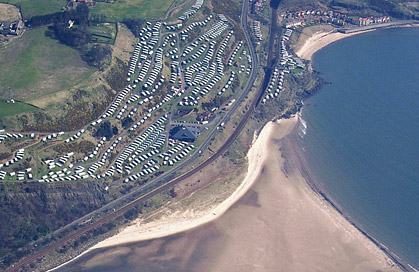 Pettycur Bay Holiday Park, Fife, Scotland