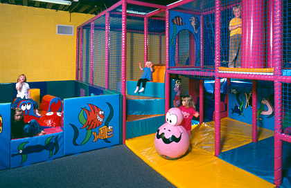 Children 39 s indoor play area at pettycur bay fife scotland for Inside play areas